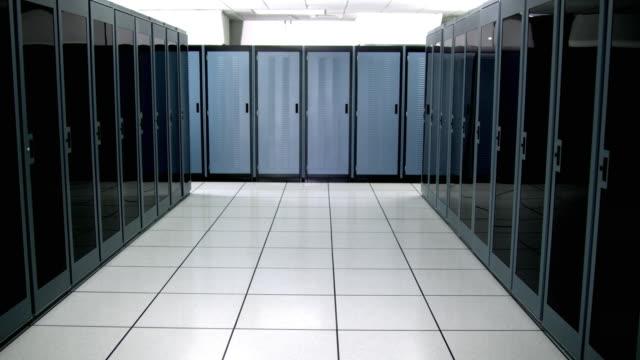 WS DS MS Empty server room