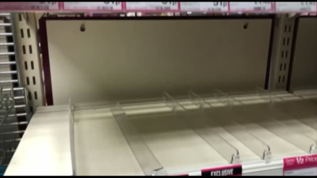 empty shelves due to hand sanitizer being sold out due to coronavirus, coventry - sold out stock videos & royalty-free footage