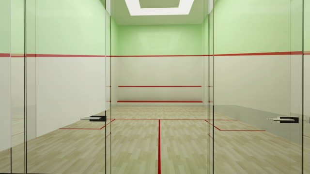 empty squash court - court stock videos & royalty-free footage
