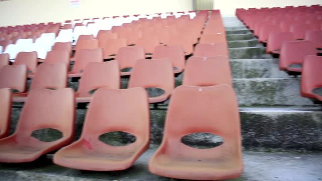 Leeren Stadion Sitzplätze