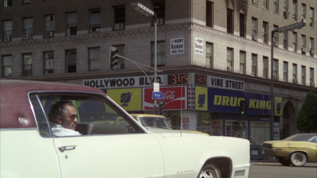 ms empty store for rent near corner of hollywood and vine - hollywood boulevard stock videos & royalty-free footage