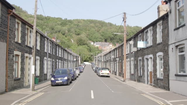 empty streets in wales as a fire break lockdown across the whole of wales is announced to tackle rising coronavirus cases - wales stock videos & royalty-free footage