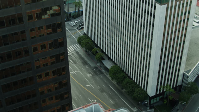 empty streets in westwood village during covid-19 lockdown - city stock videos & royalty-free footage
