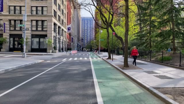 empty streets of new york - empty road stock videos & royalty-free footage