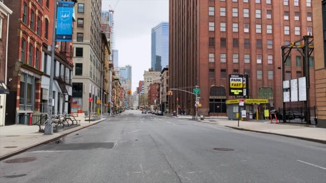 empty streets of new york - new york state stock videos & royalty-free footage