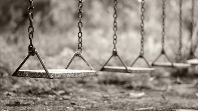 empty swing - sepia stock videos and b-roll footage