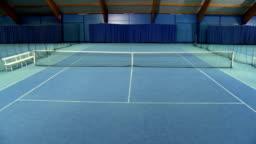 CS Empty Tennis Court