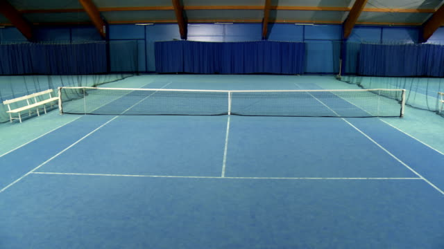 cs empty tennis court - tennis stock videos & royalty-free footage