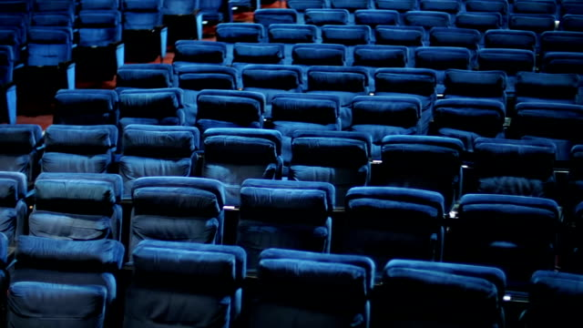empty theater seats. - seminar stock videos & royalty-free footage