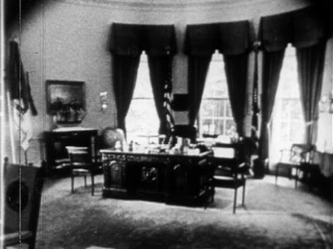 empty united states presidential oval office president's phone w/ dial various buttons on board hotline emergency communication not the red phone - telephone dial stock videos & royalty-free footage