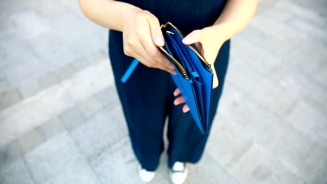 empty wallet - open wallet stock videos & royalty-free footage