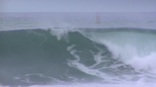 vídeos de stock, filmes e b-roll de empty wave at pipeline 7 - pipeline wave