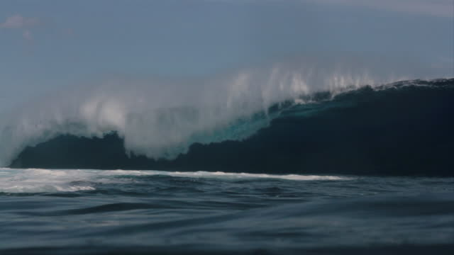 Empty Wave at Teahupoo