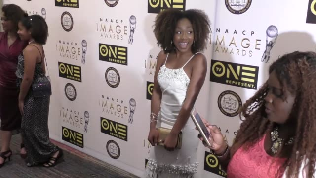 Emyri Crutchfield at the 48th NAACP Image Awards Nominees' Luncheon on January 28 2017 in Hollywood California