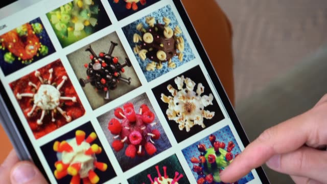 vídeos y material grabado en eventos de stock de ¿en qué se parecen un nabo picado con fósforos y un kiwano decorado con piruletas y alfileres ambos surgen de la imaginación de un artista londinense... - un día en la vida