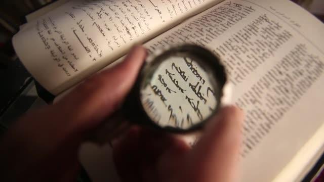 en siria el arameo esta empezando a desaparecer - cristianismo stock videos & royalty-free footage