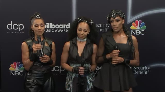 en vogue at the 2020 billboard music awards - press room at dolby theatre on october 14, 2020 in hollywood, california. - billboard点の映像素材/bロール
