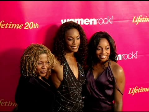en vogue at the 5th annual women rock concert at the wiltern theater in los angeles california on september 28 2004 - wiltern theater stock videos and b-roll footage