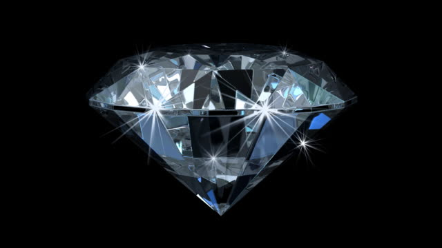 Enchanting Diamond With Magic Sparks (HD1080)