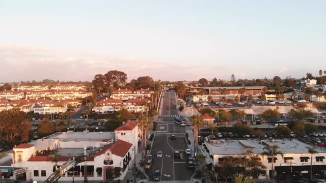 encinitas at sunset - sign stock videos & royalty-free footage