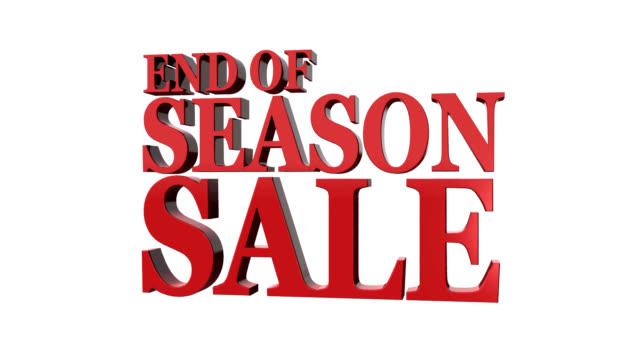 end od season sale. - sale stock videos & royalty-free footage