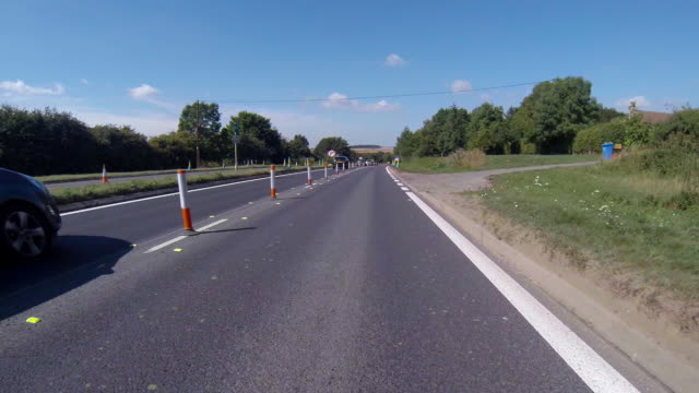 End of roadworks