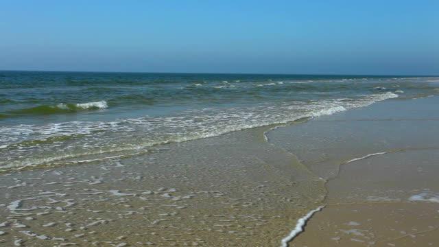 Endlosen Strand von Amrum/Deutschland