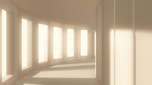 Endless Corridor | Loopable - 4K