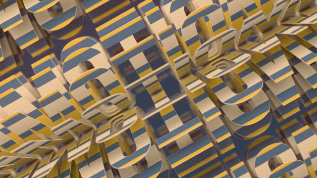 endless rotation a group of words motion. geometric 3d rendering background. modern motivation, development, self-improvement concept. digital seamless loop animation. hd resolution - capital letter stock videos & royalty-free footage