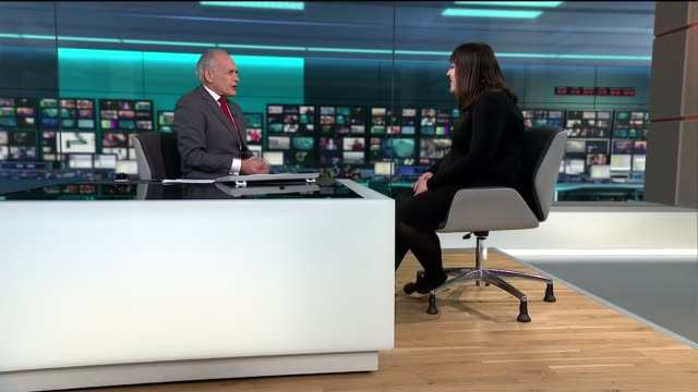 the symptoms and new guidance given to doctors to speed up diagnosis england london gir int claire barker studio interview sot - itv lunchtime news stock videos & royalty-free footage