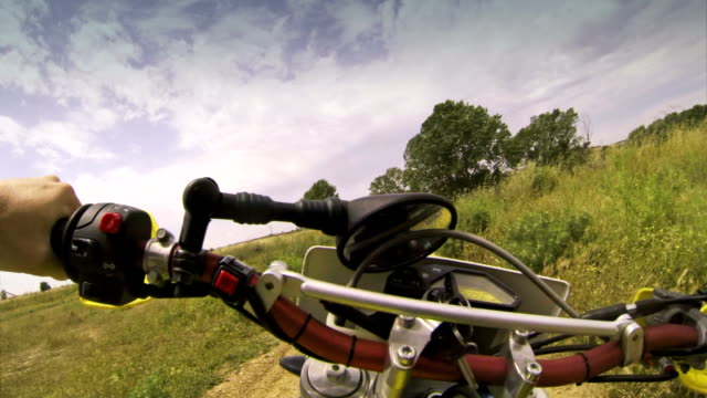 Enduro Motorcycle Cross Test Video