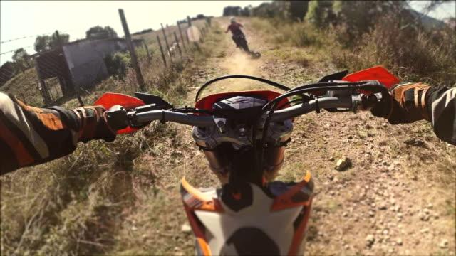 enduro motorcycle cross test video - digital camcorder stock videos & royalty-free footage