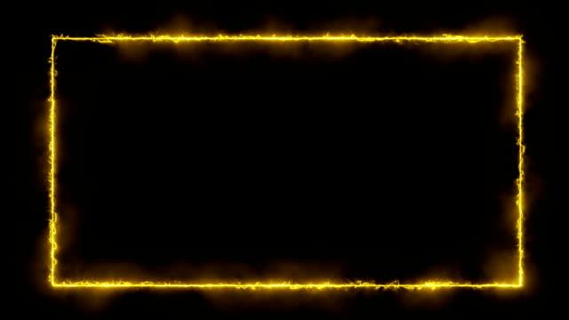 「energize 」-ファイアー/エネルギースタイルのフレーム - 特殊効果点の映像素材/bロール