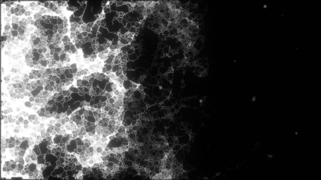 energy and particle background,black and white