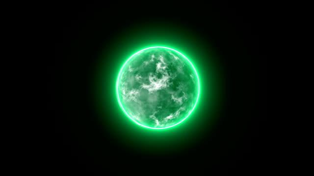 Energy Ball Motion Graphics