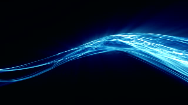 energy flow abstract blurred motion background - wave pattern stock videos & royalty-free footage