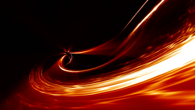 vídeos de stock e filmes b-roll de energy flow abstract blurred motion background - calor