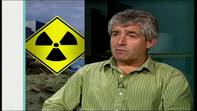 vídeos de stock, filmes e b-roll de nuclear power favoured by tony blair gir tony juniper interview sot the prime minister coming forward and saying there is new information that shows... - embrace