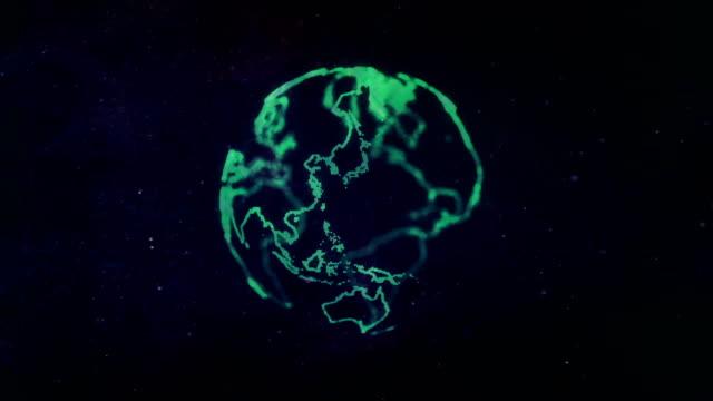 エネルギーやプラズマ ボール - 原子点の映像素材/bロール