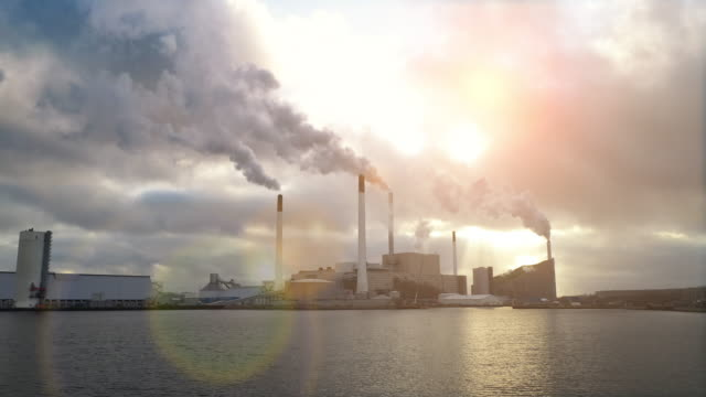 energy plant - water pollution stock videos & royalty-free footage