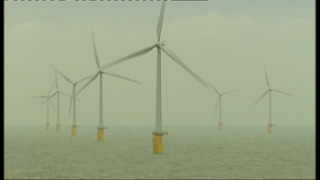 Energy reforms could lead to higher domestic electricity bills R23091004 Thanet EXT General views of Thanet Wind Farm in Thames Estuary