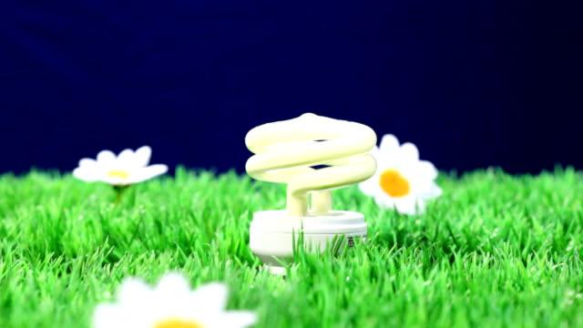 energy saving bulb - energy efficient lightbulb stock videos and b-roll footage
