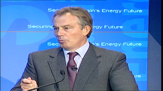 underwater gas pipeline from norway officially opened tony blair mp speech sot i think in the future energy security will be almost as important as... - {{relatedsearchurl('capsule pipeline')}} stock videos and b-roll footage