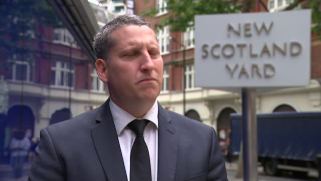 six men due to be sentenced england london new scotland yard ext det insp james hale interview sot - itv london lunchtime news点の映像素材/bロール