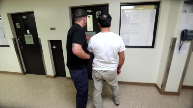 enforcement and removal operations arrest criminal fugitives as part of operation cross check. - detainee stock videos & royalty-free footage
