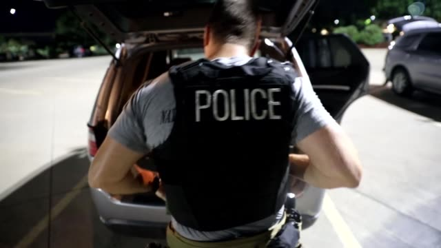 enforcement and removal operations arrest criminal fugitives as part of operation cross check. - officer military rank stock videos & royalty-free footage