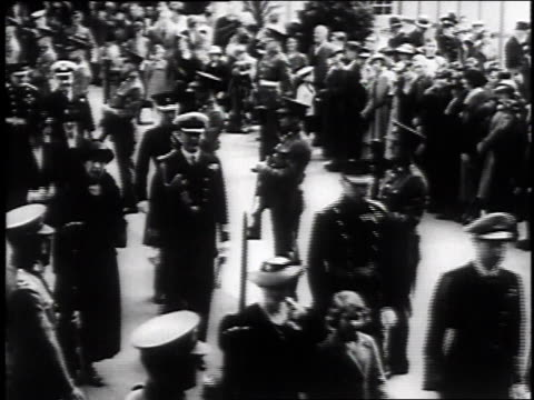 engagement announced of princess elizabeth to lt. philip mountbatten followed by archival footage of elizabeth at various times / london, united... - prinzessin stock-videos und b-roll-filmmaterial