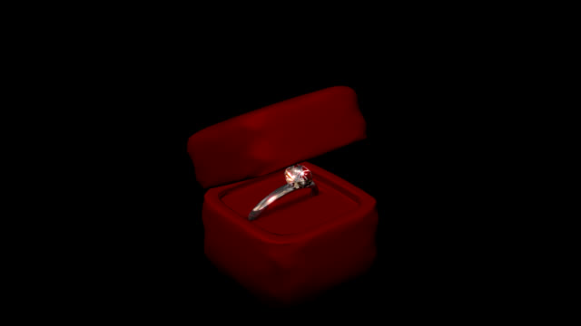 engagement ring - jewelry box stock videos and b-roll footage