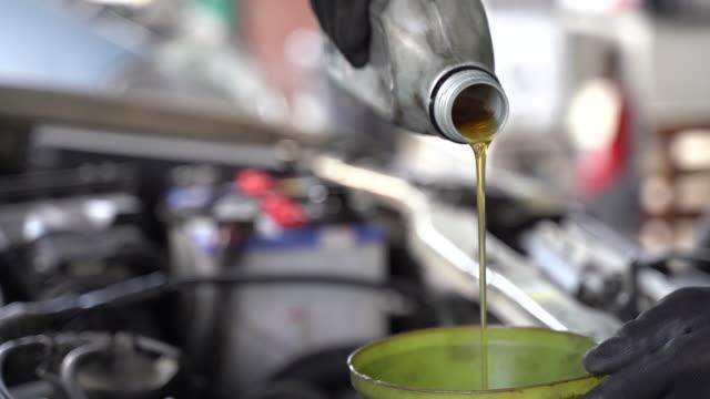 engine lubrication - lubrication stock videos & royalty-free footage