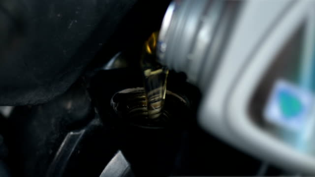 engine lubrication - lubrication stock videos & royalty-free footage